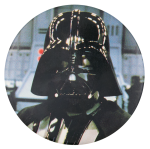 Darth Vader Star Wars Entertainment Button Museum