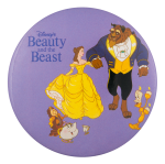 Disney Beauty and the Beast Entertainment Button Museum