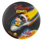Disney Comics Out of this World Entertainment Busy Beaver Button Museum