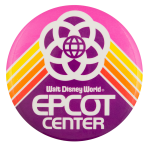 Epcot Center Pink Entertainment Button Museum