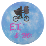 E.T. and Me Entertainment Button Museum