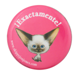 Exactamente Skippy Jon Jones Entertainment Button Museum