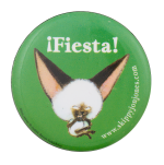 Fiesta Skippy Jon Jones Entertainment Button Museum