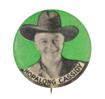 Hopalong Cassidy Entertainment Button Museum
