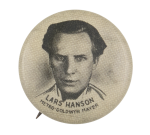 Lars Hanson Entertainment Button Museum