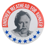 Meathead For Bunker Entertainment Busy Beaver Button Museum