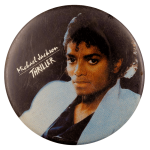 Michael Jackson Thriller Entertainment Busy Beaver Button Museum