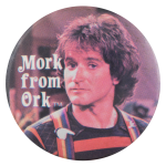 Mork From Ork Entertainment Button Museum