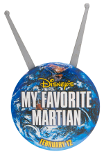 My Favorite Martian Entertainment Button Museum