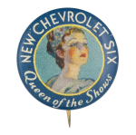 New Chevrolet Six Entertainment Button Museum