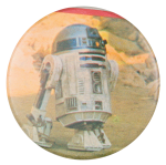 R2-D2 Star Wars Entertainment Button Museum