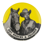 Roy Rogers and Trigger Entertainment Button Museum