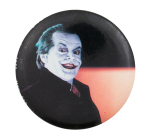 The Joker Jack Nicholson Entertainment Button Museum