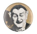 The Munsters Grandpa Entertainment Button Museum