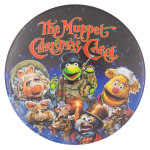 The Muppet Christmas Carol Entertainment Button Museum