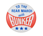 To the Rear March with Bunker Entertainment Busy Beaver Button Museum