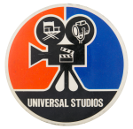 Universal Studios Camera Entertainment Button Museum