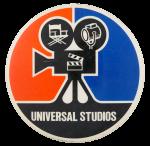 Universal Studios Camera Entertainment Busy Beaver Button Museum