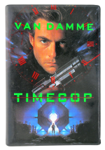 Jean-Claude Van Damme Timecop Entertainment Button Museum