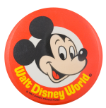 Walt Disney World Mickey Mouse Entertainment Button Museum