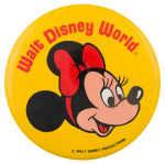 Walt Disney World Minnie Mouse Entertainment Button Museum