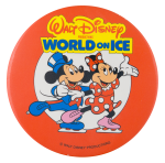 Walt Disney World On Ice  Entertainment Button Museum