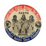 Man's First Flight Around the Moon Event Busy Beaver Button Museum