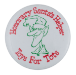 Honorary Santa's Helper Event Busy Beaver Button Museum