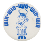 Win BHS Event Button Museum