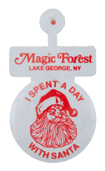 A Day With Santa Magic Forest Event Busy Beaver Button Museum