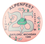 Alpenfest Event Button Museum