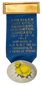 American Baby Chick Producers Association Event Button Museum