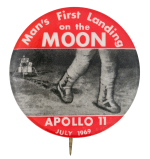 Apollo 11 Events Button Museum