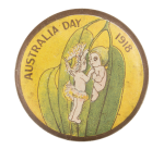 Australia Day Event Button Museum