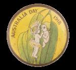Australia Day Event Button Museum