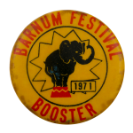 Barnum Festival Booster Event Busy Beaver Button Museum