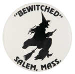 Bewitched Salem Massachusetts Event Button Museum