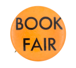 Book Fair Orange Event Button Museum