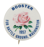 Booster for Battle Ground Washington Event Button Museum