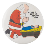 Come Let Us Adore Him Events Button Museum