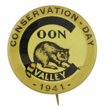 Conservation Day Coon Valley Event Button Museum