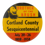 Cortland County Sesquicentennial Event Busy Beaver Button Museum