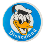 Disneyland Donald Duck Entertainment Button Museum