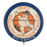 Duluth Winter Frolic Event Button Museum