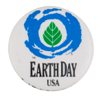 Earth Day USA Event Button Museum