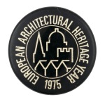 European Architectural Heritage Year Event Button Museum