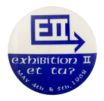 Exhibition II Et Tu Event Button Museum
