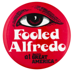 Fooled Alfredo Attraction Event Busy Beaver Button Museum