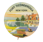 Fort Ticonderoga Event Button Museum