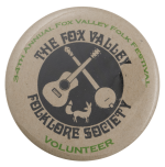 Fox Valley Folklore Society Event Busy Beaver Button Museum